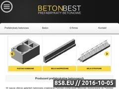 Miniaturka domeny www.betonbest.pl