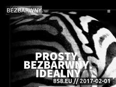 Miniaturka domeny www.bezbarwny.pl