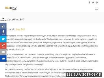 Zrzut strony Portal pożyczkowy - rankingi, porównania i blog finansowy
