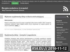 Miniaturka domeny bezpieczenstwo-zywnosci.pl