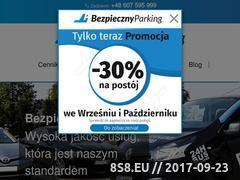 Miniaturka bezpiecznyparkingmodlin.pl (Parking Modlin Airport)