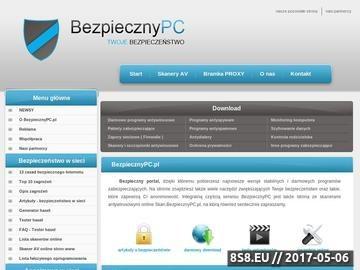Zrzut strony Bezpieczny Internet, Komputerm, PC