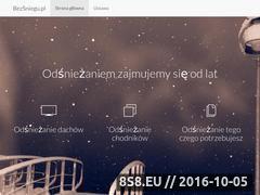Miniaturka domeny bezsniegu.pl