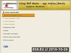 Miniaturka domeny bhp-mielec.cba.pl
