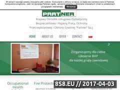 Miniaturka domeny www.bhp-partner.com.pl