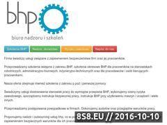 Miniaturka domeny bhp.tychy.pl