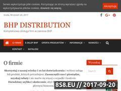 Miniaturka domeny www.bhpdistribution.pl