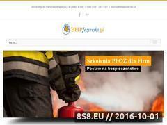Miniaturka Szkolenia BHP Kraków, nadzór BHP oraz usługi BHP (bhpjezierski.pl)