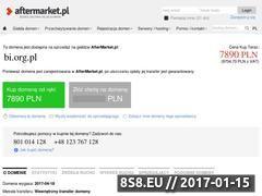 Miniaturka domeny bi.org.pl