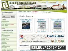 Miniaturka domeny www.bialogardzianin.pl