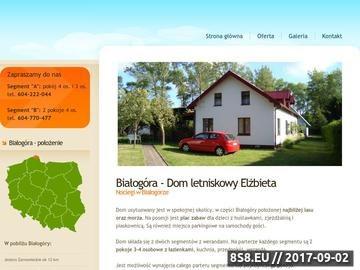 Zrzut strony Białogóra