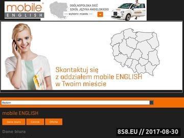 Zrzut strony Szkoły językowe Białystok