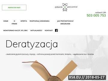Zrzut strony Pluskwy Białystok
