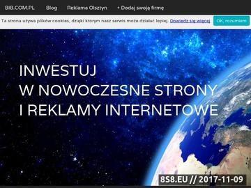 Zrzut strony Katalog firm Olsztyn. Lista firm. Spis firm