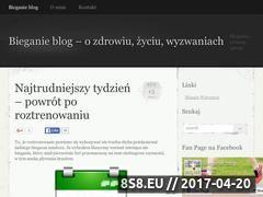Miniaturka domeny bieganie.mauser.com.pl