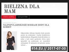 Miniaturka domeny www.bielizna-dla-mam.pl