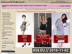 Miniaturka domeny www.bieliznadlarodziny.pl