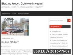 Miniaturka domeny www.bierznakredyt.pl