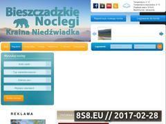 Miniaturka domeny www.bieszczadzkienoclegi.com