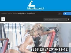 Miniaturka domeny www.bieznie.com.pl