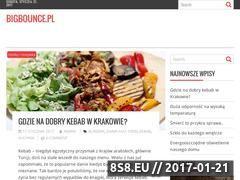 Miniaturka domeny bigbounce.pl