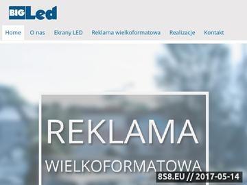 Zrzut strony Reklama Kraków - reklama LED z Kraków LED