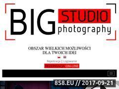Miniaturka bigstudio.pl (Wynajem studia fotograficznego oraz sesje zdjęciowe)