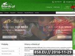 Miniaturka domeny www.bilardo.pl