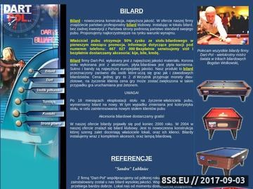 Zrzut strony Bilard