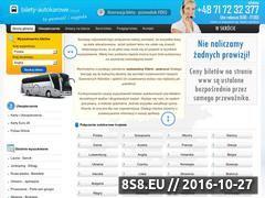 Miniaturka domeny www.bilety-autokarowe.org.pl