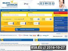 Miniaturka domeny bilety-lotnicze-online.pl