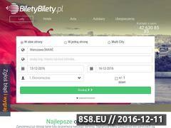 Miniaturka domeny www.biletybilety.pl