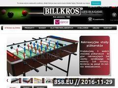 Miniaturka domeny www.billkros.com