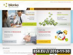 Miniaturka domeny bilonko.pl