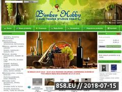 Miniaturka www.bimberhobby.pl (Korkownica do wina - sklep BIMBERHOBBY)