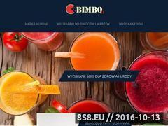 Miniaturka domeny www.bimbo24.pl