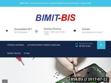 Zrzut strony Bimit-Bis Gdańsk