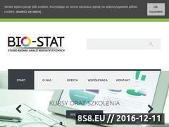 Miniaturka domeny bio-stat.pl