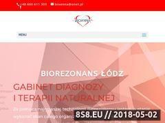 Miniaturka bioanna.com.pl (Biorezonans Łódź)