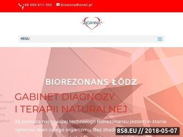 Zrzut strony Biorezonans magnetyczny Łódź
