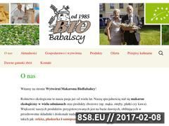 Miniaturka domeny biobabalscy.pl