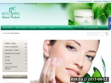 Zrzut strony Biocosmetics-polska.pl - kosmetyki na trądzik