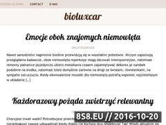 Miniaturka domeny www.bioluxcar.pl