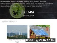 Miniaturka domeny biopreparaty-ecoway.pl