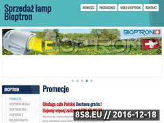 Miniaturka domeny www.bioptron.net.pl
