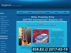Miniaturka domeny www.bioptron.org.pl