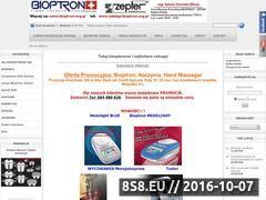 Miniaturka domeny www.bioptron.sklepna5.pl