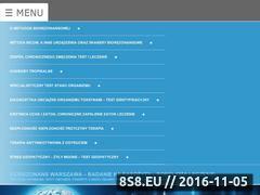 Miniaturka domeny www.biorezonans-warszawa.pl