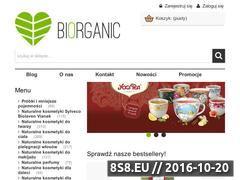 Miniaturka Sklep z kosmetykami naturalnymi oraz organicznymi (biorganic24.pl)