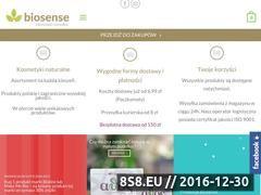 Miniaturka domeny biosense.pl